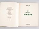 21 Visages d'Artistes [Edition originale ]. SIMA, Michel