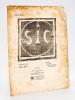 SIC : Sons, idées, couleurs, formes [ S.I.C. ] N° 5 : Mai 1916 [ Edition originale ] . ALBERT-BIROT, Pierre ; FOLGORE, Luciano ; BOUSSINGAULT