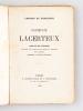 Germinie Lacerteux. Pièce en dix tableaux, précédée d'un prologue et suivie d'un épilogue [ Edition originale - Livre dédicacé par l'auteur ]. ...