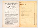 Neuvième Fête de la Ligue Nationale Aérienne sous la Présidence de M. Georges Trouillot. Grand Amphithéâtre de la Sorbonne Samedi 5 avril 1913 [ ...
