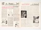 Sud. Hebdomadaire de la Résistance. Numéro 1 : 23 décembre 1944. GERMINAL ; PROF ; JIM ; JYHELL ; JEAN-PAUL