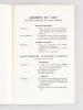 La Libellule d'Or. Jeux Floraux du Haut-Agenais [ Lot de 5 numéros dont 3 dédicacés par l'auteur Années 1960 - 1962 - 1963 - 1964 - 1966 ]. VAYLET, ...