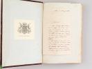 Armorial Universel précédé d'un Traité Complet de la Science du Blason et suivi d'un Supplément (2 Tomes - Complet) [ Edition originale ] [ Avec une ...