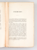 La Vie future d'après le Mazdéisme à la lumière des Croyances parallèles dans les autres religions. Etude d'Eschatologie comparée [ Edition originale ...