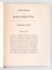 Chronologie des Rois d'Egypte [ Edition originale ]. LESUEUR, J. B. C.