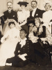 Photo de bal costumé ou bal travesti, signée par Henri Manuel. MANUEL, Henri