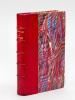Les Poètes Russes. Anthologie et Notices biographiques [ Edition originale - Livre dédicacé par l'auteur ]. DE SAINT-ALBIN, Emmanuel