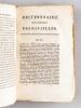 Dictionnaire historique des Batailles, sièges, et Combats de Terre et de Mer, qui ont eu lieu pendant la Révolution Française (4 Tomes - Complet) [ ...