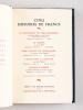 Cinq Histoires de France [ Avec : ] Cinq Histoires de France [ Avec : ] Cinq Histoires d'Outre-Mer [ Contient : ] Le Testament du Père Bosseleau par ...
