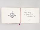 Carte de Voeux signée par Robert Lacoste, gouverneur général de l'Algérie de février 1956 à mai 1958. Alger Palais d'été. LACOSTE, Robert ; CORNEAU, ...