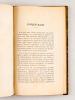 Algérie. 1 : Instructions interprétatives des divers articles du décret du 30 septembre 1878 sur les aliénations de terres domaniales de colonisation ...