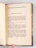 Amoenitates Belgicae [ Edition originale ]. BAUDELAIRE, Charles