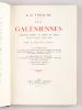 Les Galéniennes. Fantaisies rimées en marge du Codex suivies de quelques autres poèmes.. TORAUDE, L.-G.