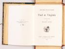 Paul et Virginie.. BERNARDIN DE SAINT-PIERRE, Jacques Henri ; LELOIR, Maurice