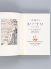 Poésies de Sappho suivies des Odes d'Anacréon et des Anacréontiques [ On joint : ] La Farce de la Marmite de Plaute . SAPPHO ; ANACREON ; PLAUTE ;  ...
