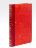 La Seine et ses Bords [ Edition originale ]. NODIER, Charles ; (MARVILLE ; FOUSSEREAU )