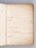 Manuscrit : Miscellanea et Pièces choisies en vers français de differens Autheurs Receuillies par moy M. J. D. N. [ Contient notamment : ] Vers de ...
