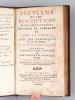 Les Plans et les Descriptions de deux des plus belles Maisons de Campagne de Pline le Consul [ Edition originale ] Avec des Remarques sur tous ses ...