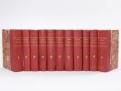 Mémoires du Duc de Simon (11 Volumes : Tomes 1 à 10 et Tome 12, sur 43 Tomes). SAINT-SIMON, Louis de ROUVROY Duc de