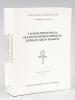 Valeurs phonétiques des signes hiéroglyphiques d'époque gréco-romaine (4 Tomes - Complet). DAUMAS, François ; COLLECTIF