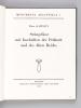 Steingefässe mit Inschriften der Frühzeit und des Alten Reichs. KAPLONY, Peter