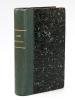 Histoire complète de l'Idée Messianique chez le Peuple d'Israël (Ses développements - Son Altération - Son rajeunissement) [ Edition originale - Livre ...