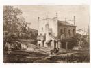 Moulin Neuf à Espiet [ Eau-forte originale extraite de la Guienne Militaire, Planche 31 ]. DROUYN, Léo