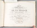 Petit Atlas National des Départemens de la France et de ses Colonies [ Petit Atlas National des Départements de la France et de ses Colonies ]. MONIN, ...
