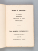 Rimes d'Antan [ Edition originale ]. AMABLE-MARTIN, F.