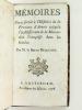 Mémoires pour servir à l'Histoire de la Province d'Artois jusqu'à l'établissement de la Monarchie Françoise dans les Gaules.. DESLYONS, M. le Baron