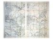 Paris et ses environs (Carte en 2 parties complémentaires au 40 000e). Section historique du Grand Etat Major Prussien