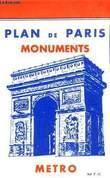 PLAN DE PARIS AVEC INDICATION DU METROPOLITAIN. COLLECTIF