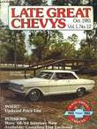 Late Great Chevys. Vol.1, N°12. SNOWDEN ROBERT