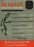 LE SAINT DETECTIVE MAGAZINE N° 56. LE SAINT ET LE NOUVEAU RICHE PAR LESLIE CHARTERIS SUIVI DE ASSASSIN PAR BURNHAM CARTER SUIVI DE LES ROMANS ...