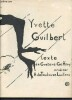 Yvette Guilbert - catalogue N° 82. Geffroy Gustave, Toulouse-Lautrec