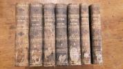 Biblia sacra vugatae editionis sixti V. ponti. Maximi jussu recognita, et Clementis VIII. 7 tomes.. Collectif
