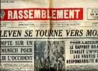 Le Rassemblement N°184 du samedi 11 novembre 1950 M. Pleven se tourne vers Moscou. Collectif
