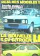 L'AUTO-JOURNAL N°13. LA NOUVELLE 3 CV CITROEN LN. LE FORD FIESTA AU BANC D'ESSAI. COLLECTIF