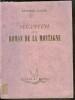 Segantini ou le roman de la montagne. CALZINI Raffaele