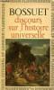 """""""Discours sur l'histoire universelle (Collection """"""""GF"""""""", n°110)"""". Bossuet"""