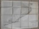 Carte : Mer Méditerranée, Côte Est d'Espagne de Tarragone au Cap de Creux d'après les levés espagnols de 1882 à 1889. Collectif