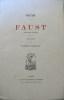 Faust. Traduction de Suzanne Paquelin. . GOETHE