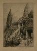 Exposition Coloniale de Paris. Temple dAngkor Vat (1931).. PINET (Charles)