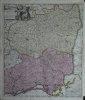 Le Théatre de la guerre dans les Sevennes (sic !) avec les montagne et les plaines des environs de Languedoc..