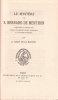 Le Mystère de S. Bernard de Menthon, publié pour la première fois d'après le manuscrit unique appartenant à M. Le comte de Menthon, par A. LECOY DE LA ...