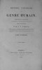 Histoire naturelle du genre humain. Nouvelle édition augmentée et entièrement refondue, avec figures.. VIREY (J.J.).