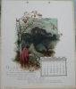 Les Mois Poétiques. Calendrier pour l'année 1894..