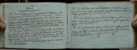 (Manuscrit). Manuel d'instruction prévôtale - 1816..