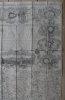 Grand théâtre de la guerre sur les frontières de France & dAllemagne ou carte nouvelle du cours du Rhin et des païs circonvoisins contenant la Haute & ...