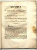 Réplique pour M. Joseph Machon, propriétaire à Tournon, agissant comme acquéreur de M. Joseph Clément; contre les hospices civils de la ville de ...